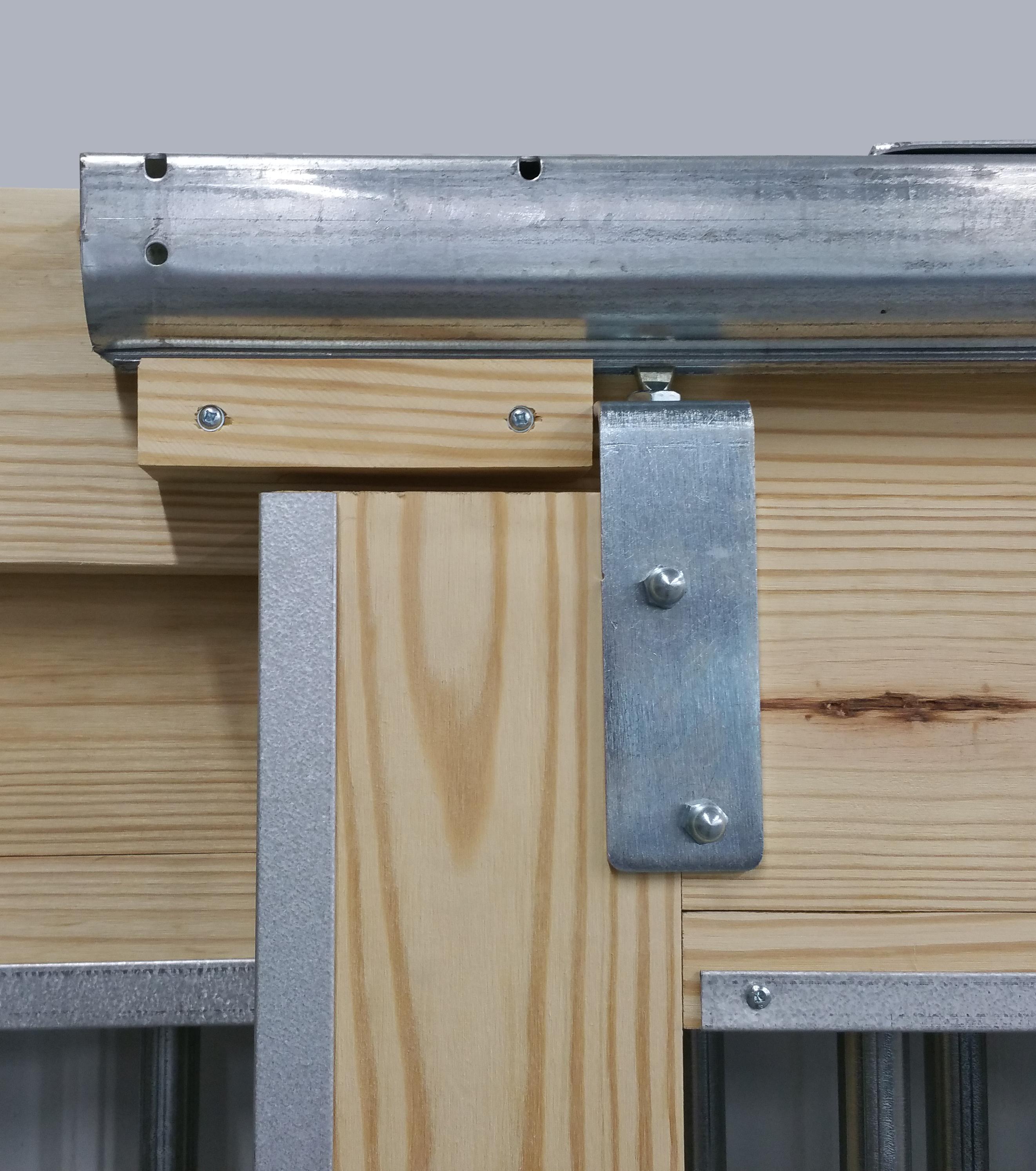 Door Hardware Set 8 Track For Stall Doors Slhw Woodstar Products