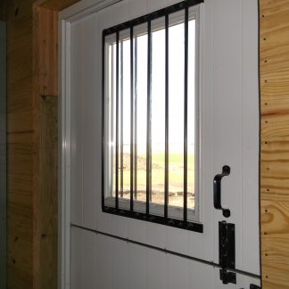 Youu0027re Viewing: DUTCH DOOR U2013 ALL STEEL 50 1/2u2033 X 89 1/2u2033 WHITE X BUCK U2013 SDD  $1,250.00