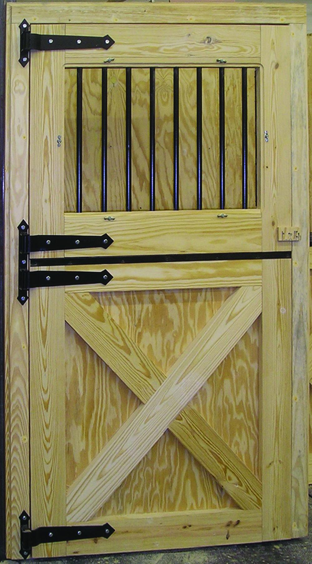 Decorative Dutch Door